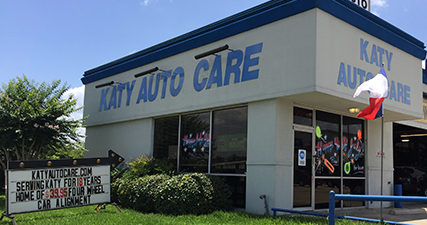 See Katy Auto Care for your scheduled repairs.